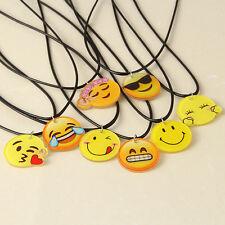 Funny EMOJI  Pendant Smiley Face Emoticon icon Clavicle Necklace Harajuku 1pcs