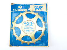 Shimano Dura Ace freewheel Cog 5 speed 34t GOLD  Vintage road Bike mtb NOS