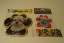 Shihpoo Dog Mixed Breed Mousepad Bookmark & Car Magnet 3 pc Gift Set 13125-126