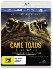 Cane Toads: The Conquest (3D Blu-ray/Blu-ray/DVD) * blu-ray * NEW