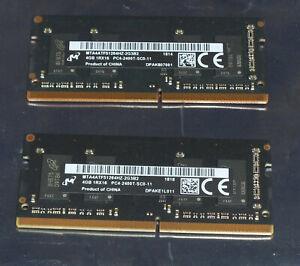 Genuine Apple 8GB 2 x 4GB PC4-2400 (19200) 260-pin 2400MHz DDR4  iMAC 2017-19