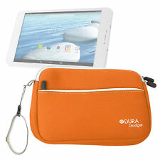Protective Neoprene Orange Cover/Case w/ Wrist Strap for LeapFrog LeapPad Glo