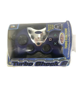 Intec Turbo Shock 2 PlayStation 2 Controller With Storage Bag PS2  NEW Sealed