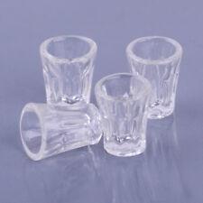 4Stk Miniatur Puppenhaus Puppenstube Maßstab 1:12 Flaschen Saftglas Gläser
