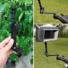 """11"""" inch Articulating Magic Arm + Super Clamp for LED light DSLR Rig LCD Monitor"""