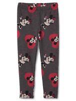 GAP NEW ~ 5 Girls Disney MINNIE & MICKEY MOUSE Grey Leggings Pants NWT