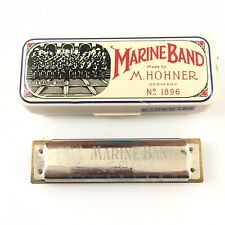 Vintage Hohner Marine Band Harmonica Key Of E Made in Germany