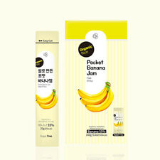 Pocket Banana Jam Made of Rice Set ( 20g x 8 pockets) Organic Fruit Sugar free