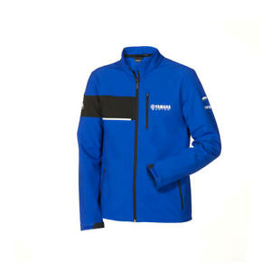 Genuine Yamaha Paddock Blue 2020 Men's Softshell Jacket Leeds NEW