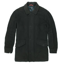 mens Coat GANT wool vintage Size L, mid-length used - Black