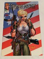 Divine Right The Adventures Of Max Faraday #1 Sept 1997 Image Comics LEE VARIANT
