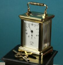 French L' Epee Miniature Carriage Clock with Key ~ Reduced