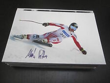 32954 Martin Pitterle Ski Alpin original signiertes Autogrammfoto