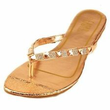 Women's Synthetic Block Sandals and Flip Flops