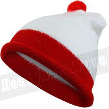 Cappelli da uomo bianchi acrilici senza marca