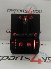 VAUXHALL ASTRA G MK4 / ZAFIRA RED LED HEADLIGHT SWITCH WITH FRONT & REAR FOGS