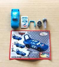 SORPRESINE MAGIC KINDER - SERIE CARS DISNEY PIXAR - 2S-202 + CARTINA - WITH BPZ