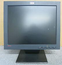 IBM ThinkVision 6734-AB1 17 Inch LCD TFT Colour Flat Screen Monitor