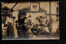 Colwyn Bay - St. Paul's Church Garden Fete 1921 - real photographic postcard