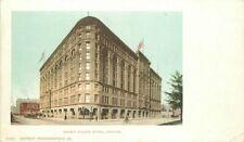 Brown Palace Hotel Denver Colorado Trolleys Detroit Photographic Postcard 6976