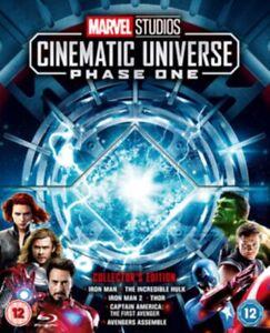 Marvel Studios 1 : Cinematic Universe Phase One (7 Disc Blu-ray Box Set) 6 Films