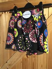 """Lovely Colourful Firework Patterned Skirt. Tags Attached. W28"""" L15"""" Approx 8"""