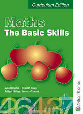 Maths: The Basic Skills (Levels 1 and 2 and 3)-ExLibrary