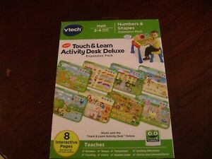 VTech Touch and Learn Activity Desk Deluxe Numbers and Shapes Expansion pack