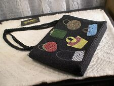 INGE CHRISTOPHER BEADED MULTIPLE PURSES ZIPPED BAG - NEW WITH TAGS