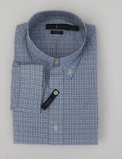 NWT Ralph Lauren Classic Fit LS Plaid Cotton Stretch Shirt Sz M L XL 2XL NEW $90