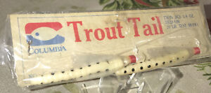 Vintage Columbia Trout Tail Twin Jigs Fishing Rig/Lures NIP