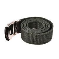 Men Canvas Belt Buckle 30mm Width, 1.1M Length- Green R2I5 S3J1