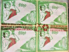 100 Etichette adesive per bottiglie di vino etichetta bottiglia vendemmia vini