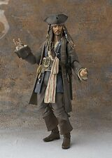 BANDAI S.H.Figuarts Captain Jack Sparrow Pirates of the Caribbean Dead men JAPAN