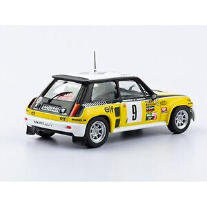 RENAULT 5 TURBO (1981) J. Ragnotti - J. Andrié Rally WRC car escala 1:43 diecast