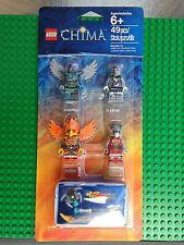 Lego Chima BATTLE PACK2 Vornon Sykor Frax Worriz Minifigs NISB Xmas Present Gift