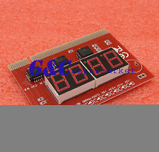 LED 4 Digit Analysis Diagnostic Tester POST Card PCI PC Analyzer Motherboard