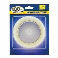 """ROLLS CLEAR PACKING TAPE CELLOTAPE SELLOTAPE 25MM 1"""" X 100"""