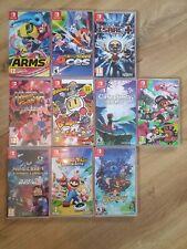Nintendo switch 10 games bundle
