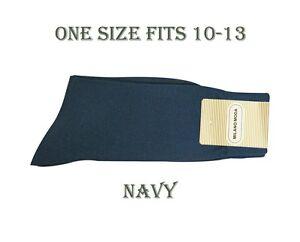 1 Pair Men's High Quality Dress Socks Cotton Blend ONE SIZE FITS 10~13 S02