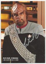 Michael Dorn - Star Trek Insurrection signed photo