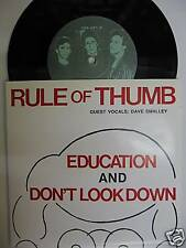 RULE OF THUMB - ÉDUCATION/NE PAS LOOK DOWN 7""