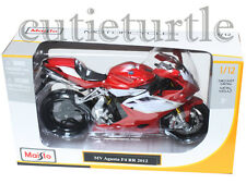 Maisto Mv Agusta F4 RR 2012 Bike Motorcycle 1:12 Red White 11098