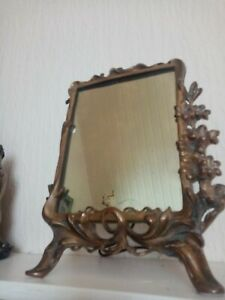 mirror bronze  Antique French Ornate