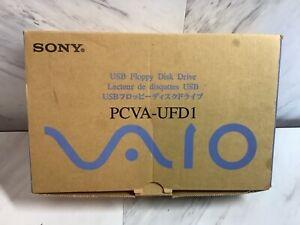 Sony USB Floppy Disk Drive Model PCVA-UFD1 New old stock ,2000