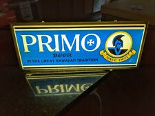 Old Rare Primo Beer Lighted Sign