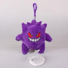 "5"" 13Cm Gengar Pokemon Plush Toys Soft Doll Key Chain Ring Pendant Bag Strap"