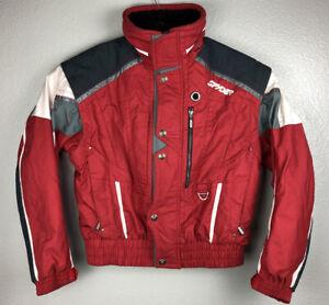 Spyder Convertible Jacket Zip Off Sleeves Waterproof Windproof Snow Men's M Vest