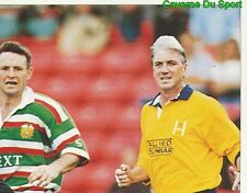 365 NEIL BACK LEICESTER TIGERS 2/4  STICKER PREMIER DIVISION RUGBY 1998 PANINI