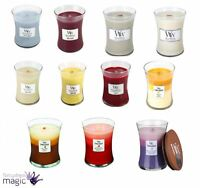 Woodwick Hearthwick Medium Candle Jar 10oz Scented Crackle Fragrance Home Gift